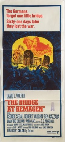 The bridge at remagen Australian daybill 1969