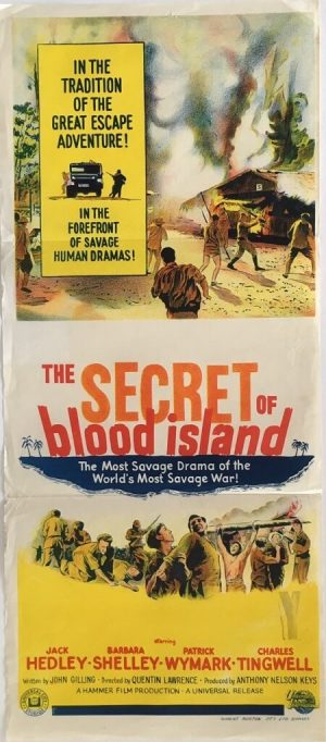 The secret of blood island Australian daybill 1965