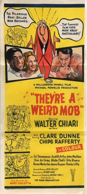 hey're a weird mob Australian daybill 1966