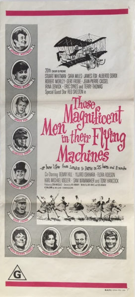 Those Magnificent Men In Their Flying Machines daybill