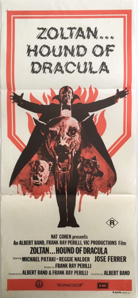 Zoltan Hound Of Dracula Daybill Poster