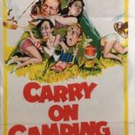 carry on camping australian daybill poster 1969 COC69DB