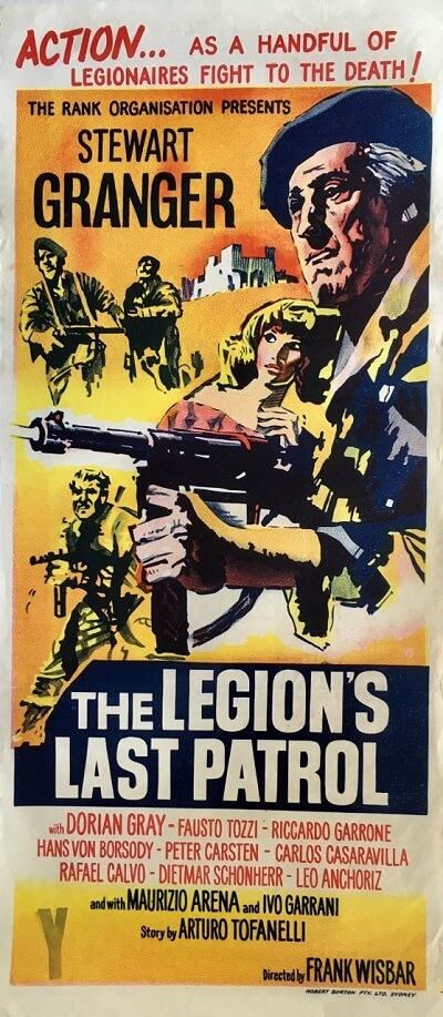 the legion's last patrol australian daybill poster 1962