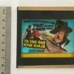bad day at black rock 1954 original vintage glass advertising slide