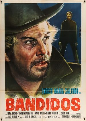 bandidos italian 1974 re-release original vintage film movie poster