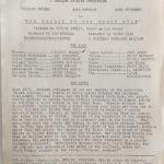 "bridge on the river kwai original vintage press still rear information 8"" x 10"" Jack Hawkins, William Holden"