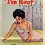 cat on a hot tin roof australian daybill poster 1966, elizabeth taylor, paul newman, burl ives