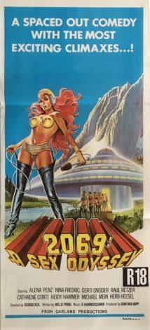 2069 a sex odyssey australian daybill poster 1974 db1 alena penz