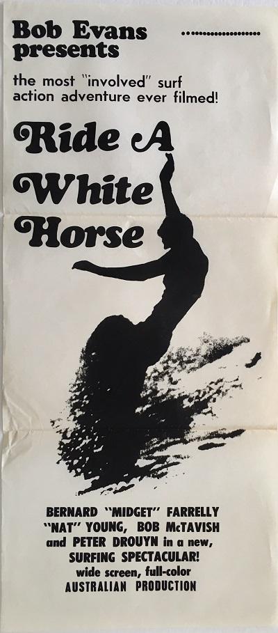 ride a white horse australian daybill poster 1968