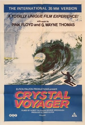 crystal voyager australian one sheet poster 1972