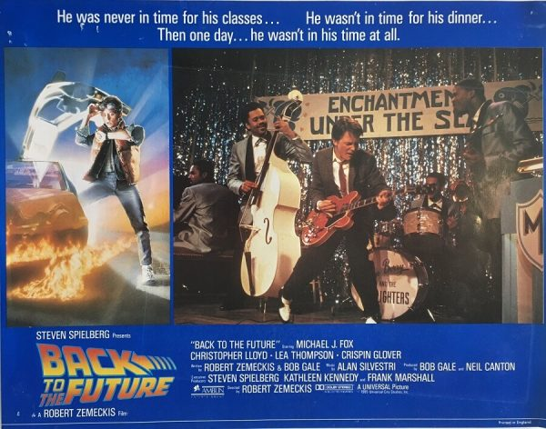 back to the future lobby card 1985 michael j fox BTTF85LC3