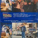 back to the future 1985 lobby card set michael j fox