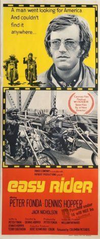 easy rider australian daybill poster db1 1969