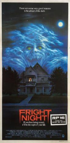fright night australian daybill poster 1985