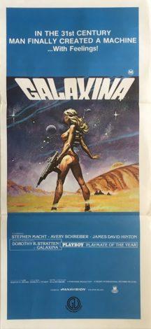 galaxina australian daybill poster 1980