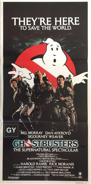 ghostbusters australian daybill poster 1984 GB84DB1