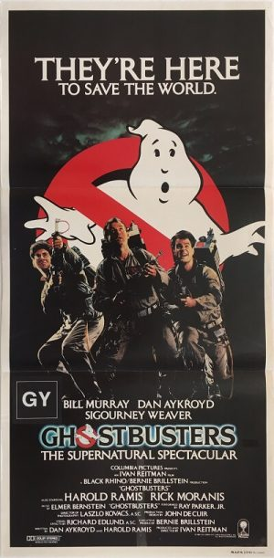 ghostbusters australian daybill poster 1984 GB84DB2