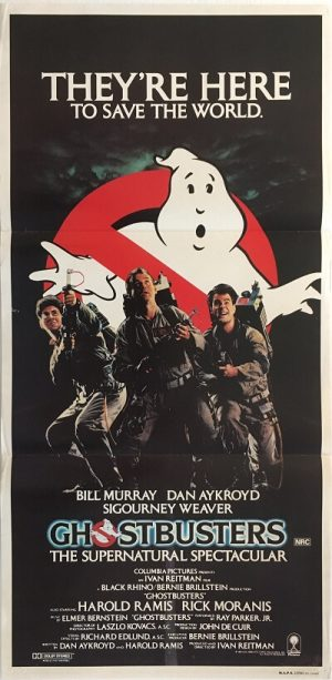 ghostbusters australian daybill poster 1984 GB84DB3