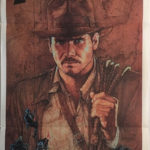 raiders of the lost ark 1981 indiana jones australian daybill poster RLA81DB1 (1)