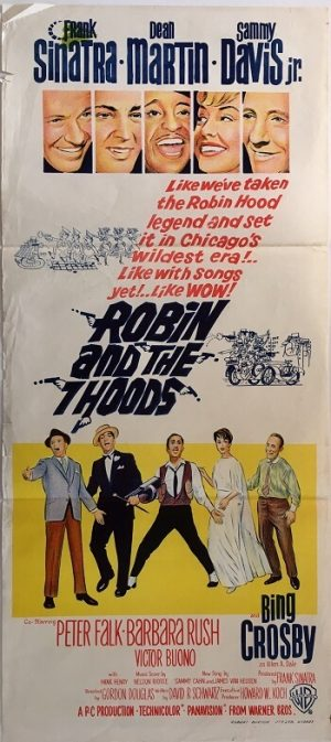 robin and the 7 hoods daybill poster 1964 rat pack