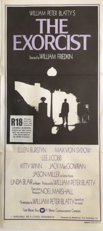 the exorcist australian daybill poster 1974