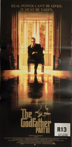 the godfather part 3 III australian daybill poster 1990