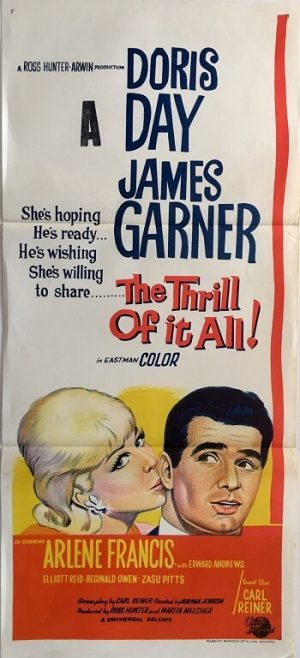 the thrill of it all daybill poster