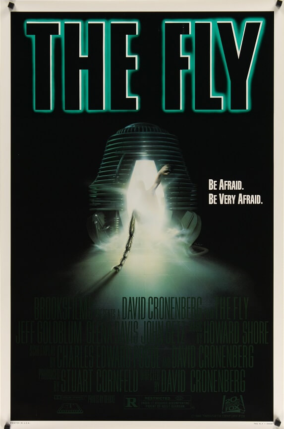 the fly us one sheet poster 1986