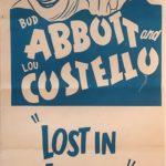 abbott and costello lost in alaska australian daybill poster 1952