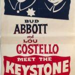 abbott and costello meet the keystone kops australian daybill 1955 poster