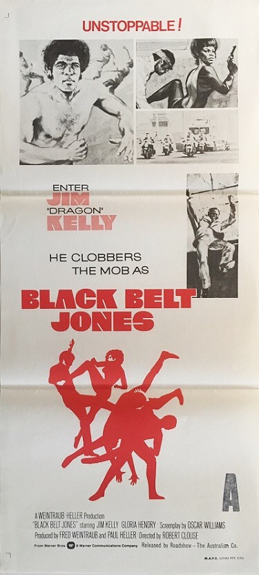 black belt jones australian daybill poster 2 1974 (2)
