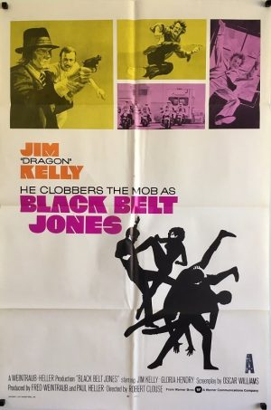 black belt jones us one sheet poster jim kelly 1974