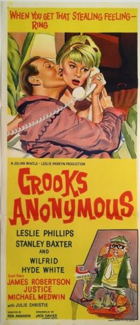 crooks anonymous australian daybill poster 1962