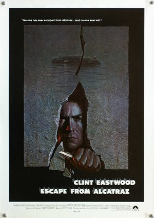 escape from alcatraz special US poster clint eastwood