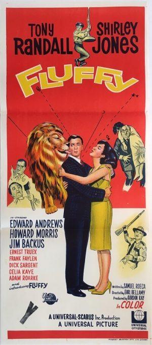 fluffy australian daybill poster 1965