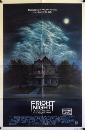 fright night us one sheet poster 1985