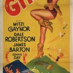 golden girl australian daybill poster 1951