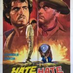 hate for hate US one sheet poster western cowboy 1967
