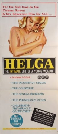 helga australian daybill poster 1967 sex education film
