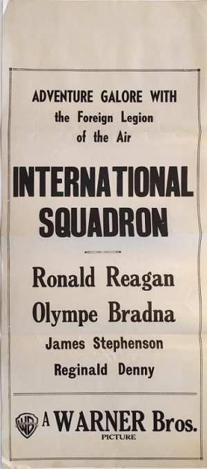 international squadron 1941 ronald reagan