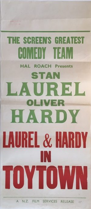laural & hardy in toytown babes in toyland daybill poster 1934