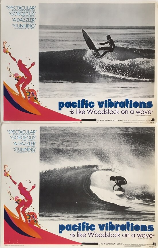 pacific vibrations lobby card surfing movie 1971 3