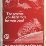 play misty for me australian daybill poster 1971