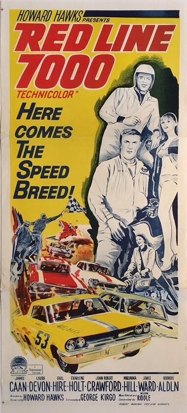 red line 7000 australian daybill 1965