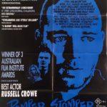 romper stomper australian one sheet movie poster 1992 staring russell crowe