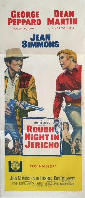 rough night in jericho australian daybill poster 1967