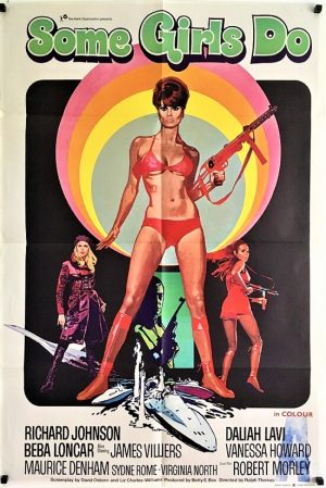 some girls do UK one sheet poster 1969