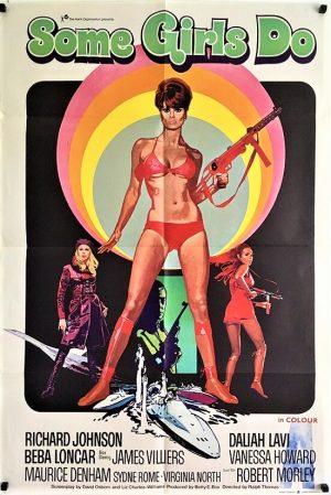 some girls do UK one sheet poster 1969