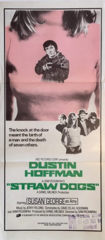straw dogs australian daybill poster 1972