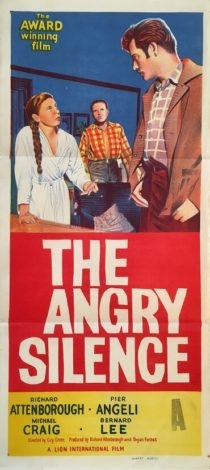 the angry silence australian daybill poster 1960